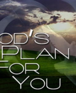 GOD HAS GREAT PLANS FOR ME  (4/19/15)